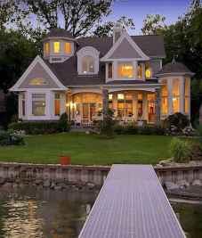 40 Fantastic Dream Home Exterior Design Ideas (10)