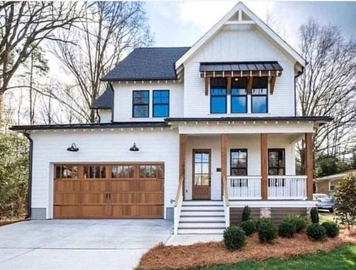 40 Fantastic Dream Home Exterior Design Ideas (12)