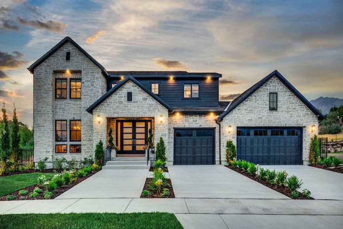 40 Fantastic Dream Home Exterior Design Ideas (18)