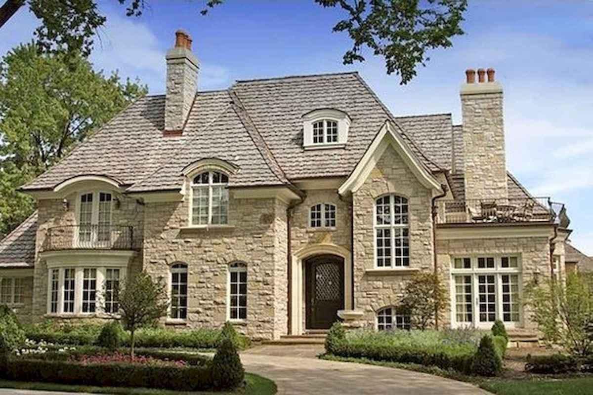 40 Fantastic Dream Home Exterior Design Ideas (26)