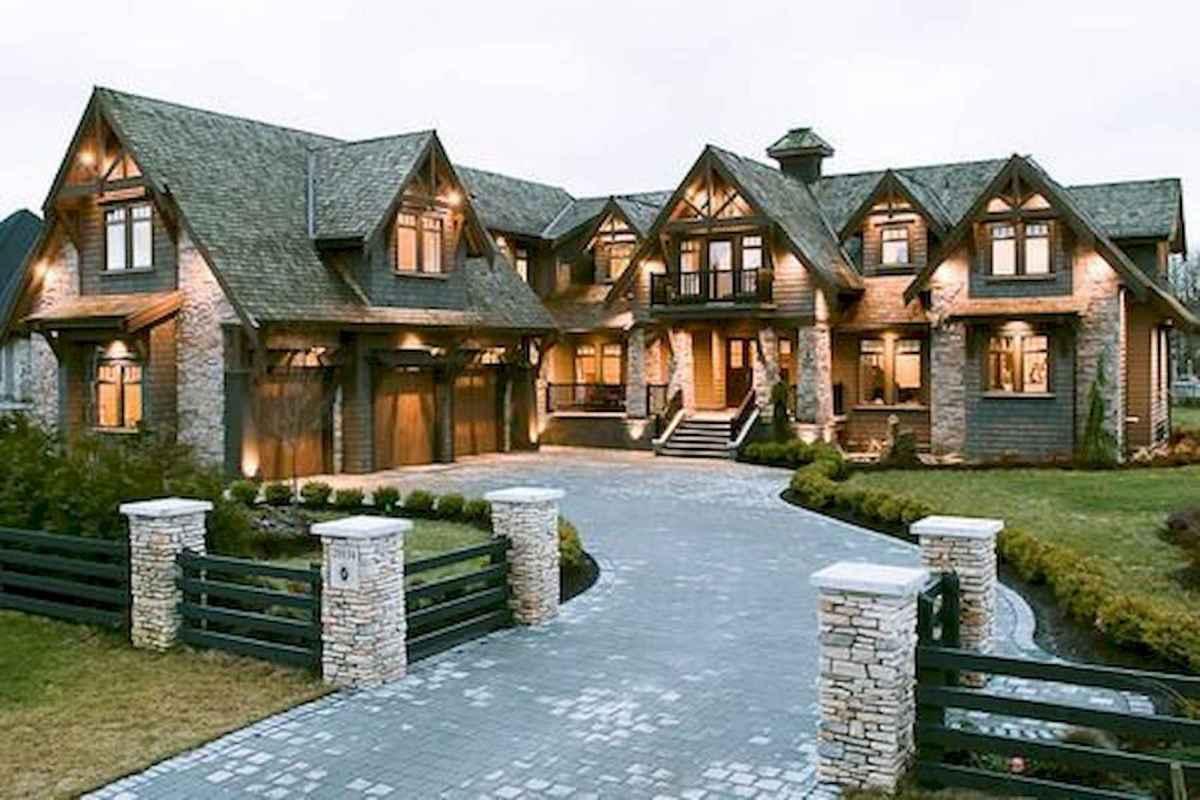 40 Fantastic Dream Home Exterior Design Ideas (30)