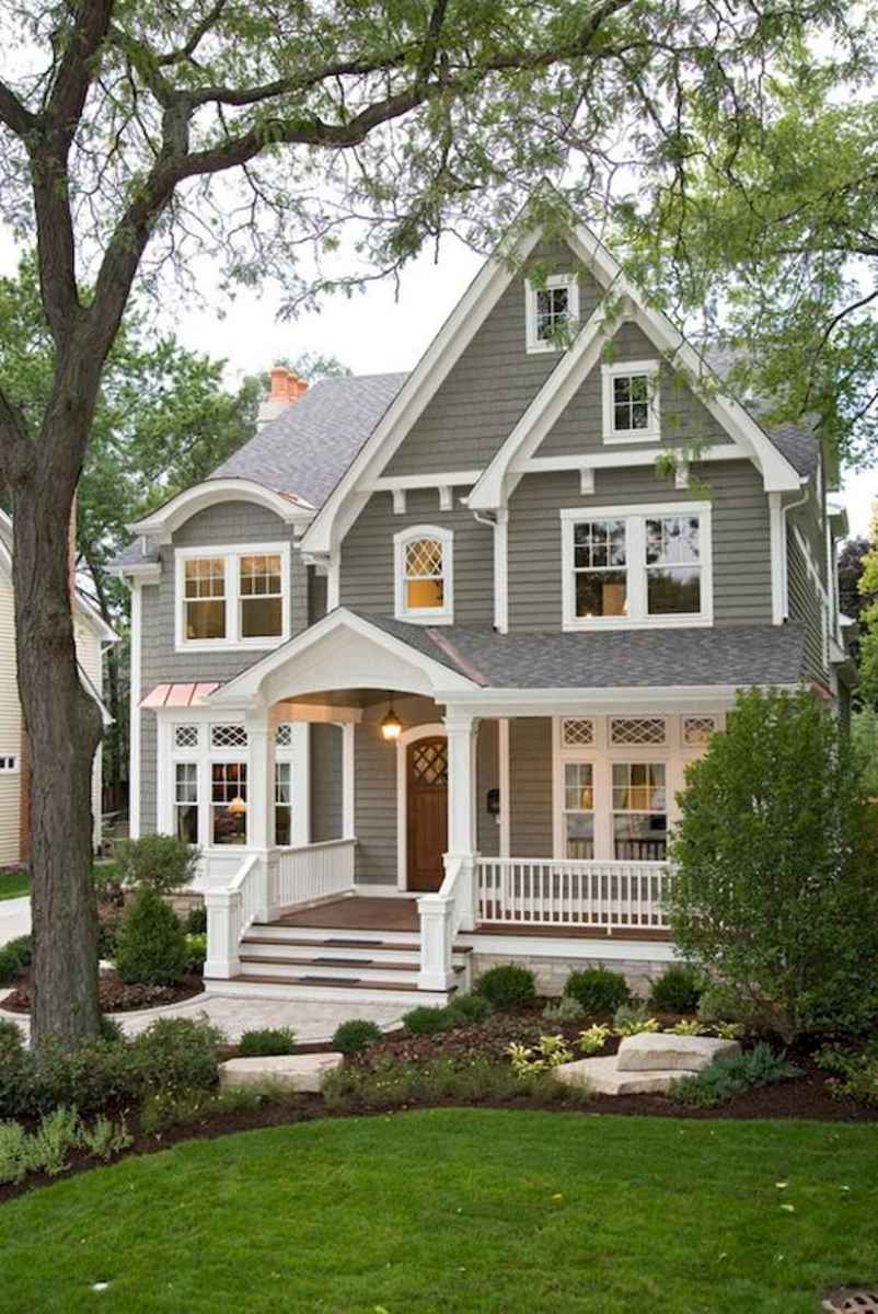 40 Fantastic Dream Home Exterior Design Ideas (8)