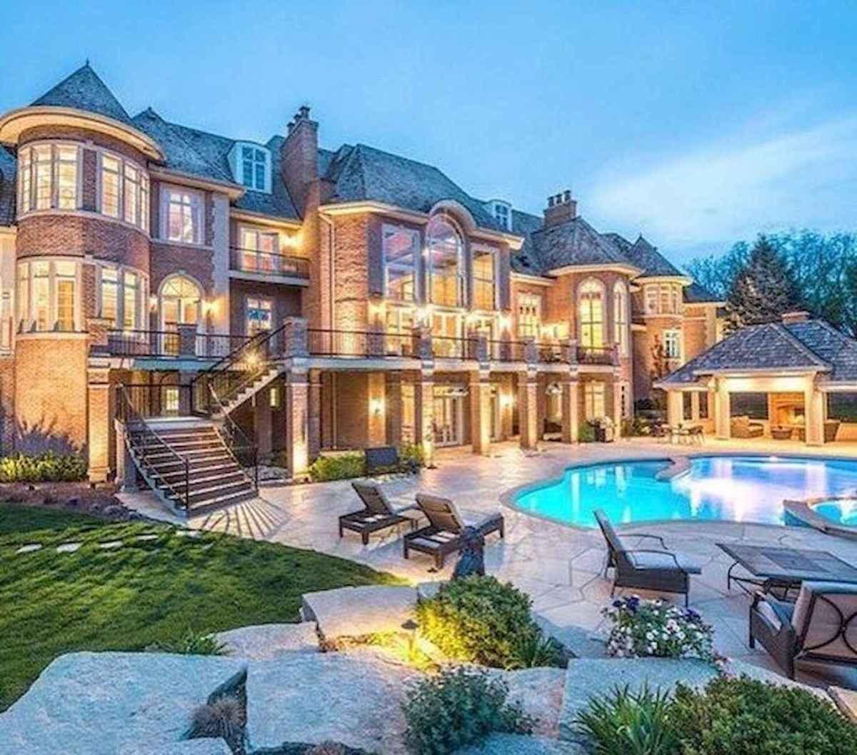 40 Stunning Mansions Luxury Exterior Design Ideas (13)