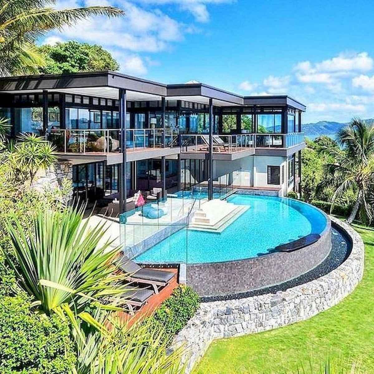 40 Stunning Mansions Luxury Exterior Design Ideas (29)