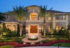 40 Stunning Mansions Luxury Exterior Design Ideas (30)