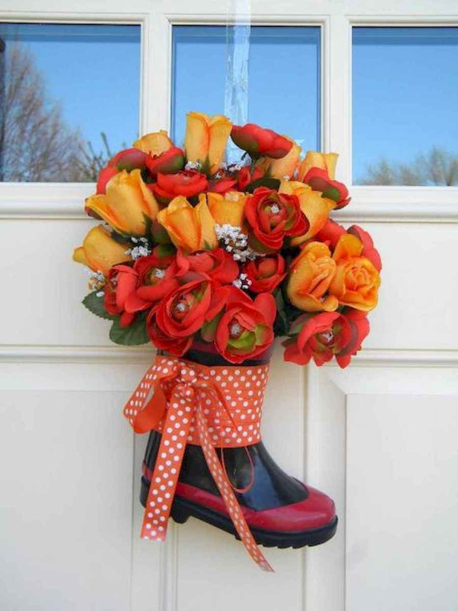 60 Favorite Spring Wreaths for Front Door Design Ideas And Decor (23)