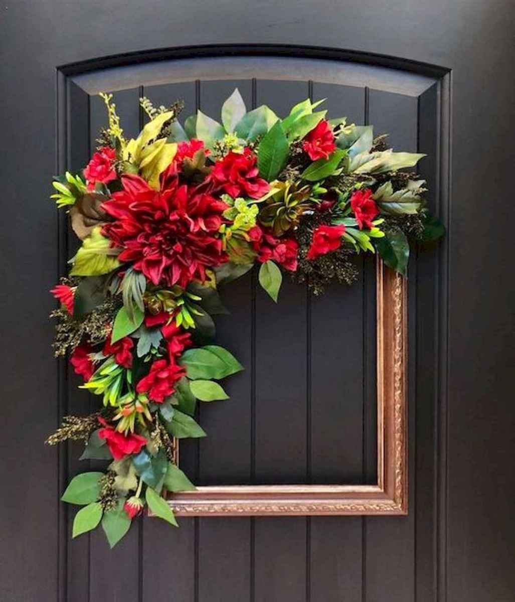 60 Favorite Spring Wreaths for Front Door Design Ideas And Decor (36)