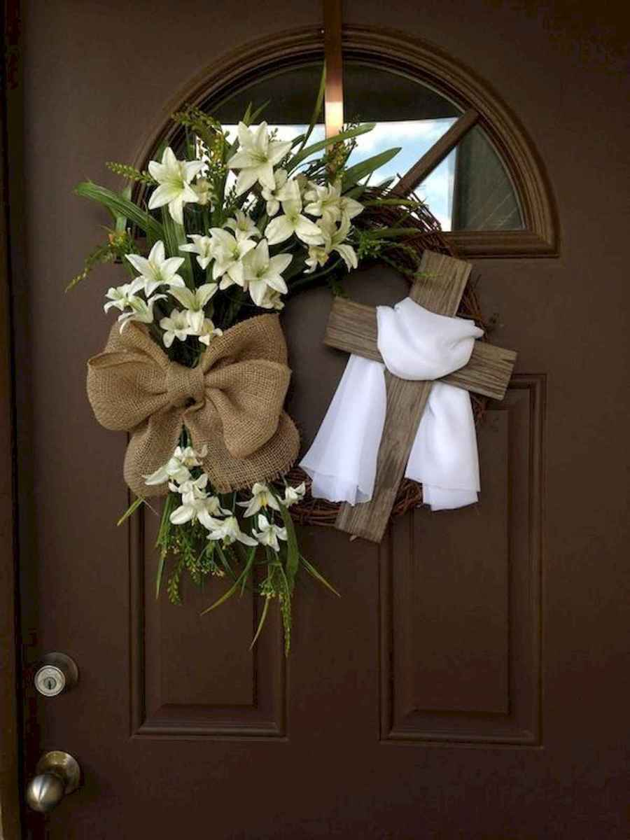 60 Favorite Spring Wreaths for Front Door Design Ideas And Decor (38)