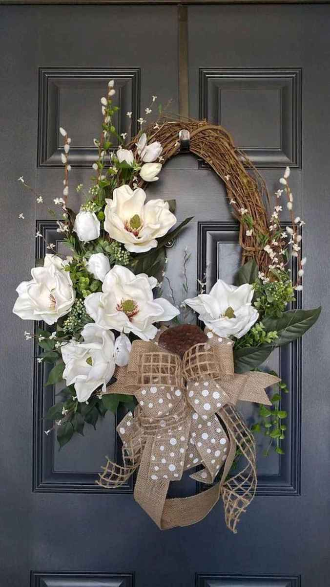 60 Favorite Spring Wreaths for Front Door Design Ideas And Decor (4)