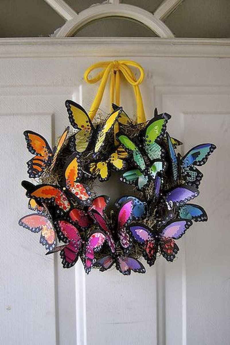 60 Favorite Spring Wreaths for Front Door Design Ideas And Decor (40)