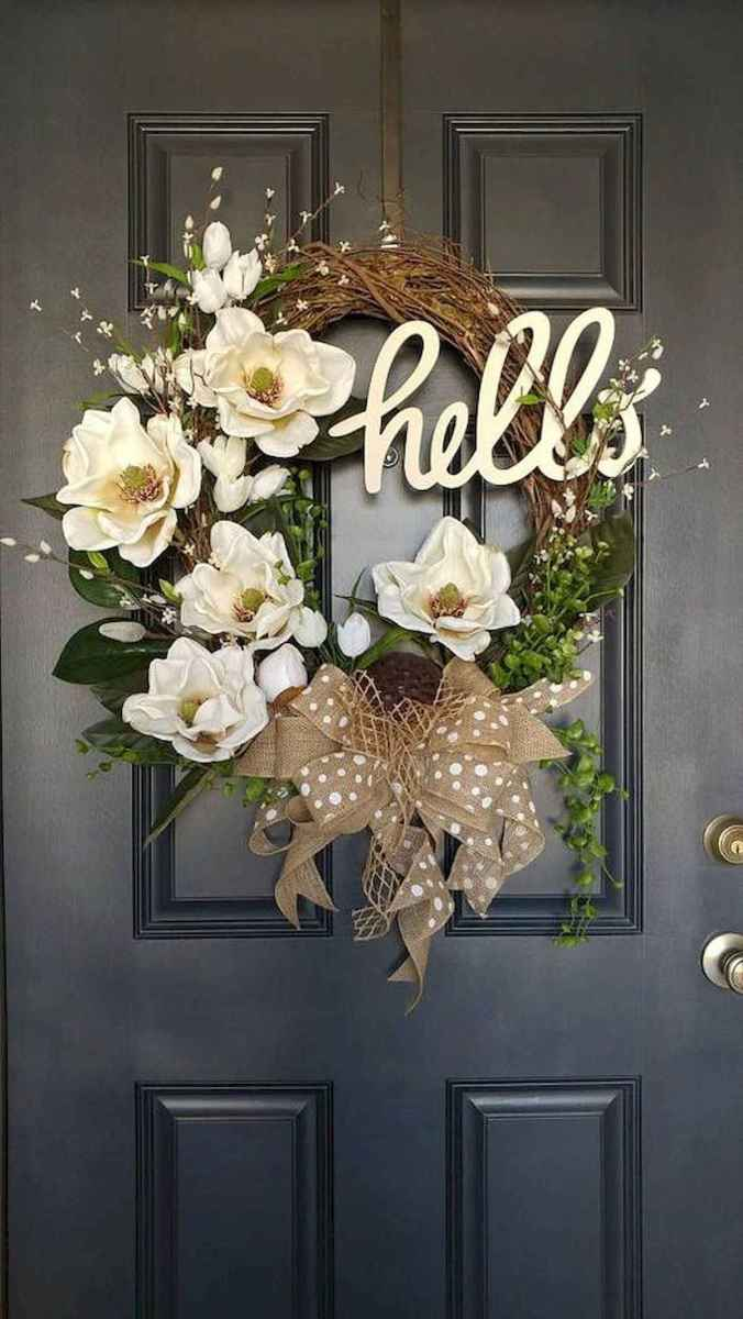 60 Favorite Spring Wreaths for Front Door Design Ideas And Decor (47)