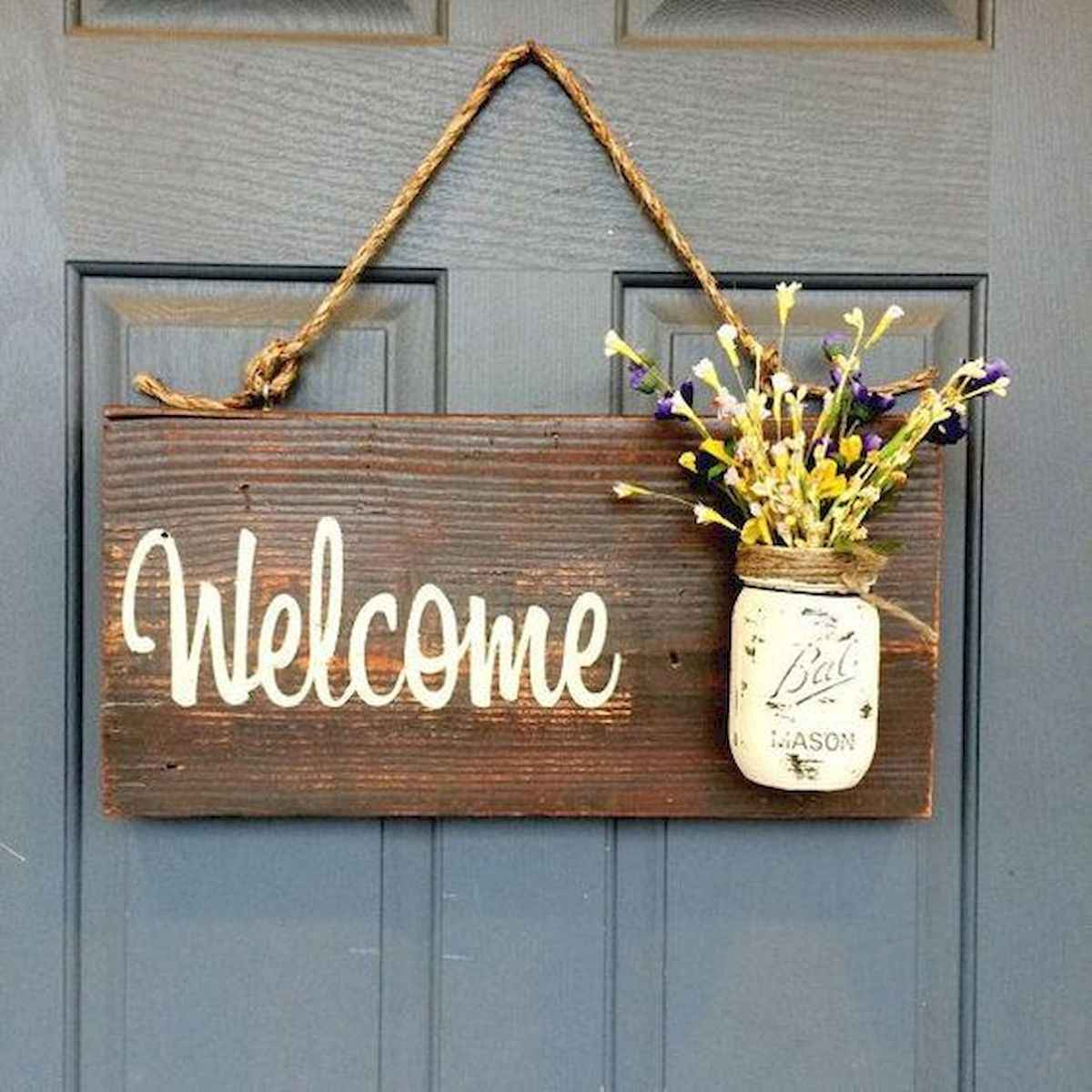 60 Favorite Spring Wreaths for Front Door Design Ideas And Decor (54)