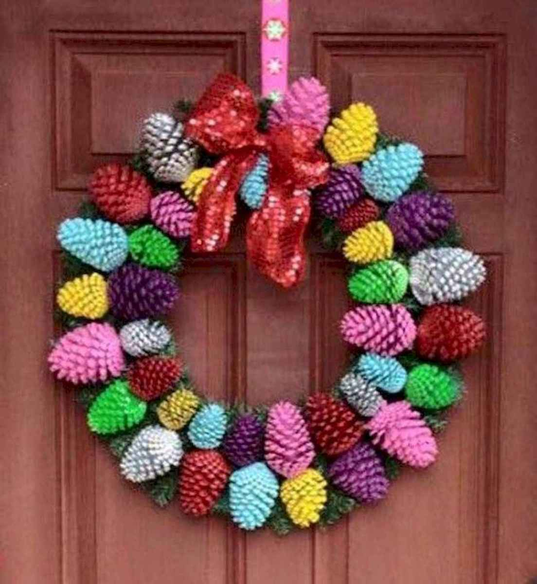 60 Favorite Spring Wreaths for Front Door Design Ideas And Decor (58)