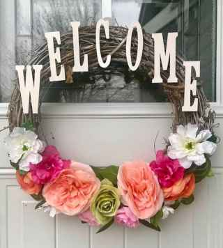 60 Favorite Spring Wreaths for Front Door Design Ideas And Decor (6)