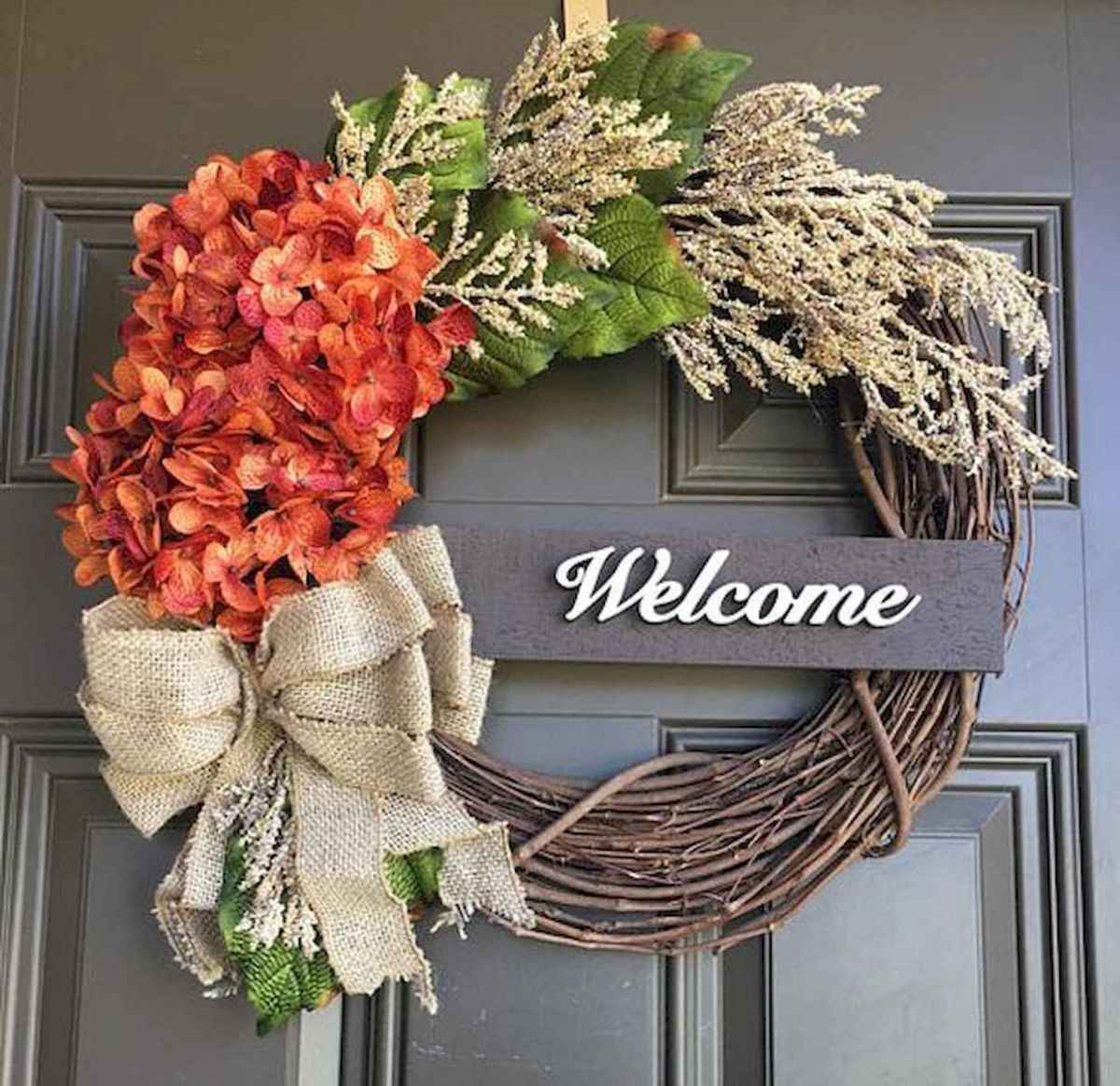 60 Favorite Spring Wreaths for Front Door Design Ideas And Decor (9)