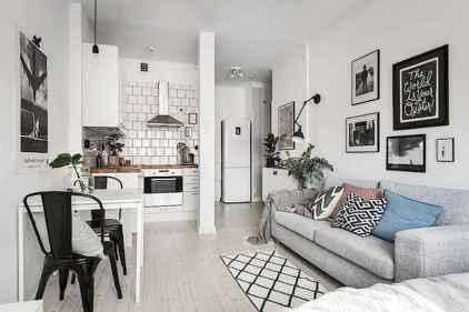40+ Beautiful Studio Apartment Kitchen Decor Ideas And Remodel (14)