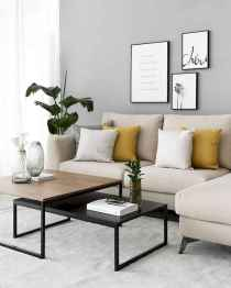 50+ Beautiful Small Living Room Decor Ideas And Remodel for Your First Apartment (18)