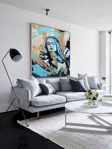 50+ Beautiful Small Living Room Decor Ideas And Remodel for Your First Apartment (30)