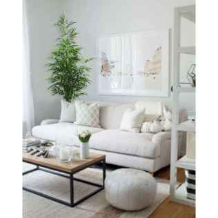 50+ Beautiful Small Living Room Decor Ideas And Remodel for Your First Apartment (32)