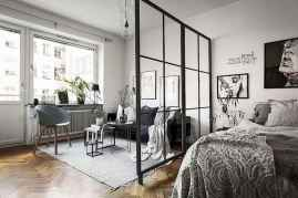50+ Stunning Minimalist Studio Apartment Small Spaces Decor Ideas And Remodel (13)