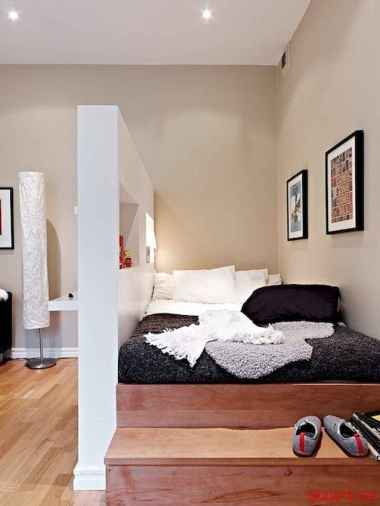 50+ Stunning Minimalist Studio Apartment Small Spaces Decor Ideas And Remodel (31)
