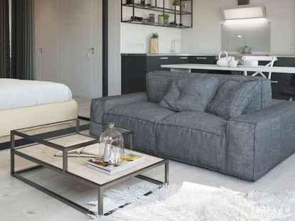 50+ Stunning Minimalist Studio Apartment Small Spaces Decor Ideas And Remodel (47)