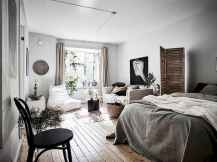 50+ Stunning Minimalist Studio Apartment Small Spaces Decor Ideas And Remodel (48)