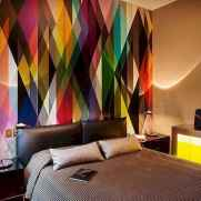 70+ Awesome Colorful Bedroom Decor Ideas And Remodel for Summer Project (19)