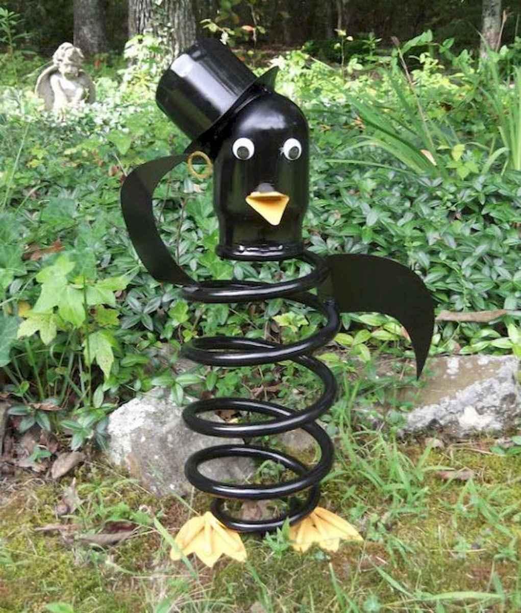 70 Best Metal Garden Art Design Ideas For Summer (28)
