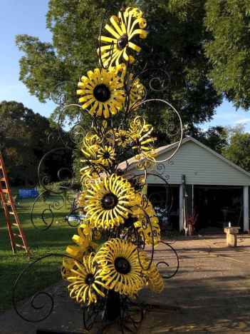 70 Best Metal Garden Art Design Ideas For Summer (56)