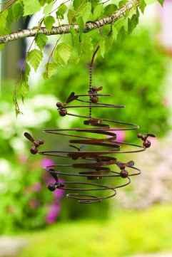 70 Best Metal Garden Art Design Ideas For Summer (65)