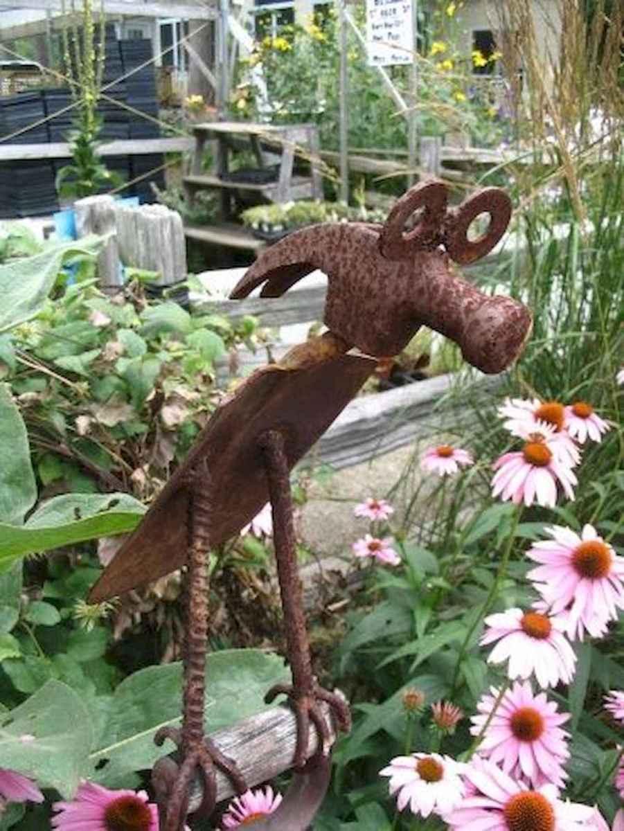 70 Creative and Inspiring Garden Art From Junk Design Ideas For Summer (1)