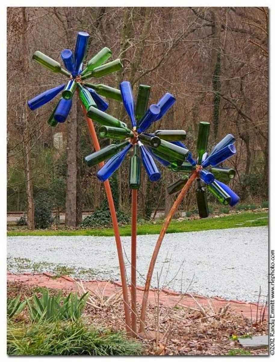 70 Creative and Inspiring Garden Art From Junk Design Ideas For Summer (31)