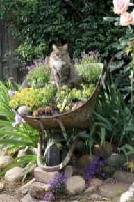 70 Creative and Inspiring Garden Art From Junk Design Ideas For Summer (6)