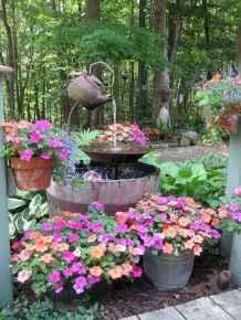 70 Creative and Inspiring Garden Art From Junk Design Ideas For Summer (7)