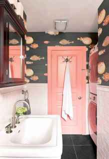 70+ Fantastic Colorful Bathroom Decor Ideas And Remodel for Summer Project (24)