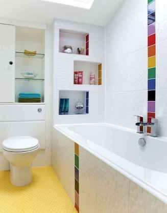70+ Fantastic Colorful Bathroom Decor Ideas And Remodel for Summer Project (5)