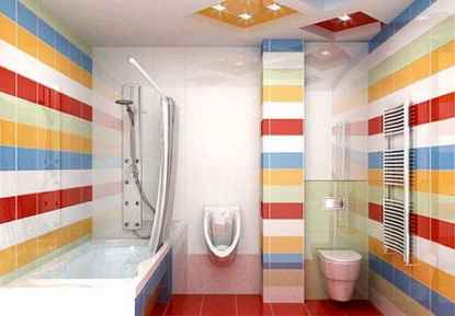 70+ Fantastic Colorful Bathroom Decor Ideas And Remodel for Summer Project (71)