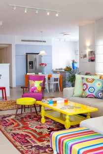 80+ Awesome Colorful Living Room Decor Ideas And Remodel for Summer Project (15)