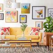 80+ Awesome Colorful Living Room Decor Ideas And Remodel for Summer Project (2)