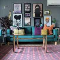 80+ Awesome Colorful Living Room Decor Ideas And Remodel for Summer Project (29)