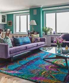 80+ Awesome Colorful Living Room Decor Ideas And Remodel for Summer Project (33)