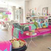 80+ Awesome Colorful Living Room Decor Ideas And Remodel for Summer Project (49)