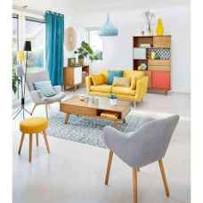 80+ Awesome Colorful Living Room Decor Ideas And Remodel for Summer Project (7)