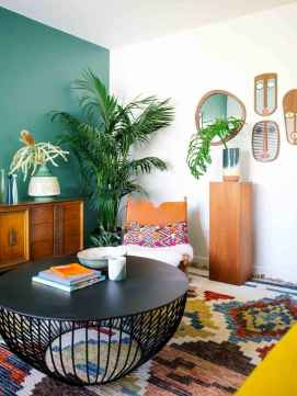 80+ Awesome Colorful Living Room Decor Ideas And Remodel for Summer Project (78)