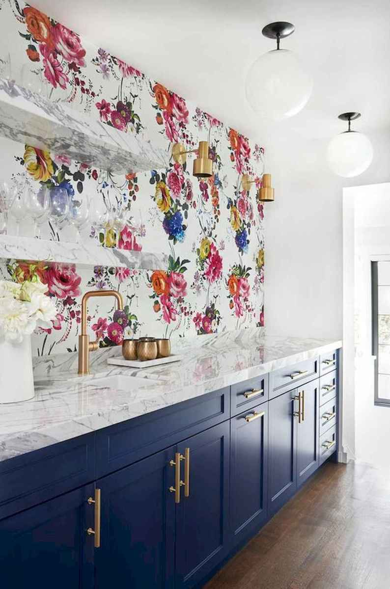 80+ Fantastic Colorful Kitchen Decor Ideas And Remodel for Summer Project (12)