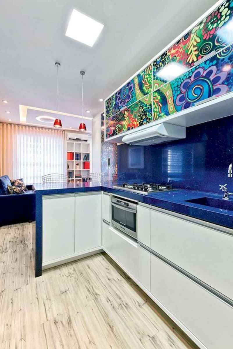 80+ Fantastic Colorful Kitchen Decor Ideas And Remodel for Summer Project (2)