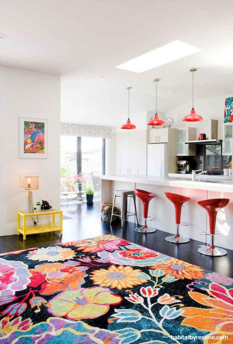 80+ Fantastic Colorful Kitchen Decor Ideas And Remodel for Summer Project (22)