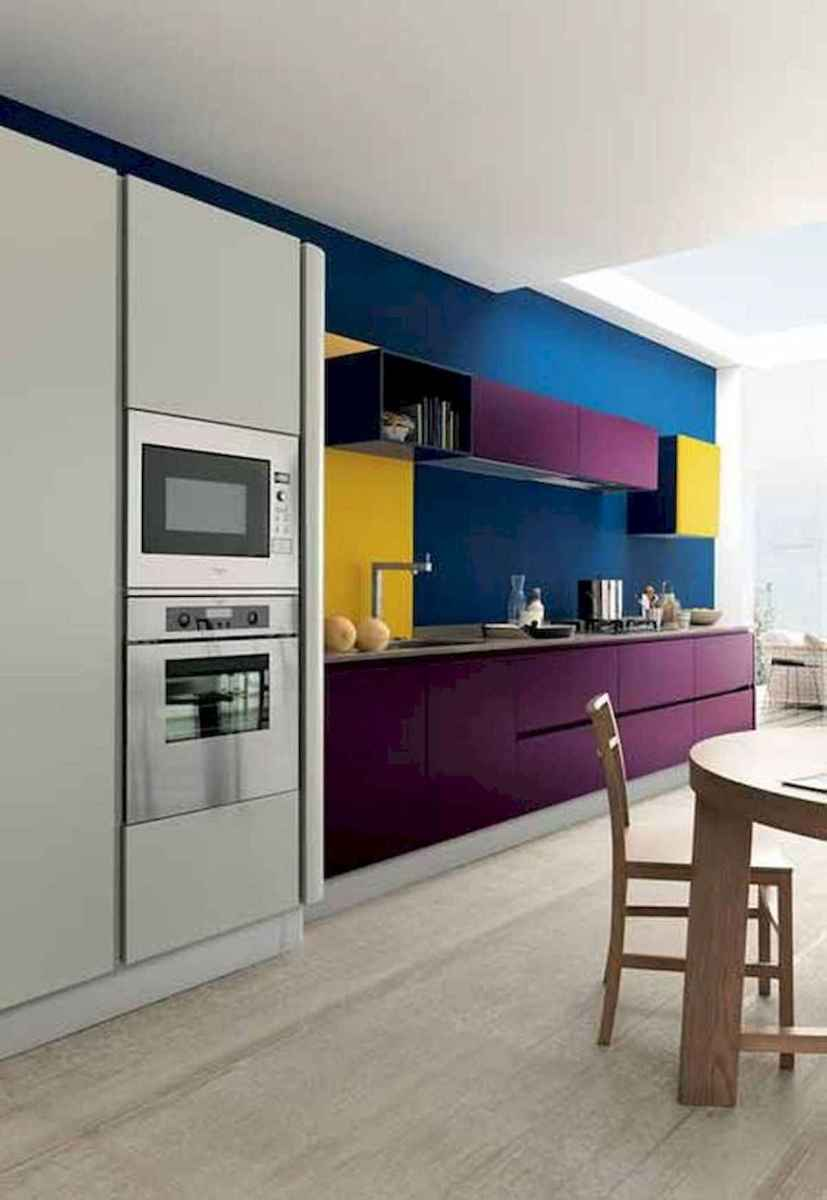 80+ Fantastic Colorful Kitchen Decor Ideas And Remodel for Summer Project (24)