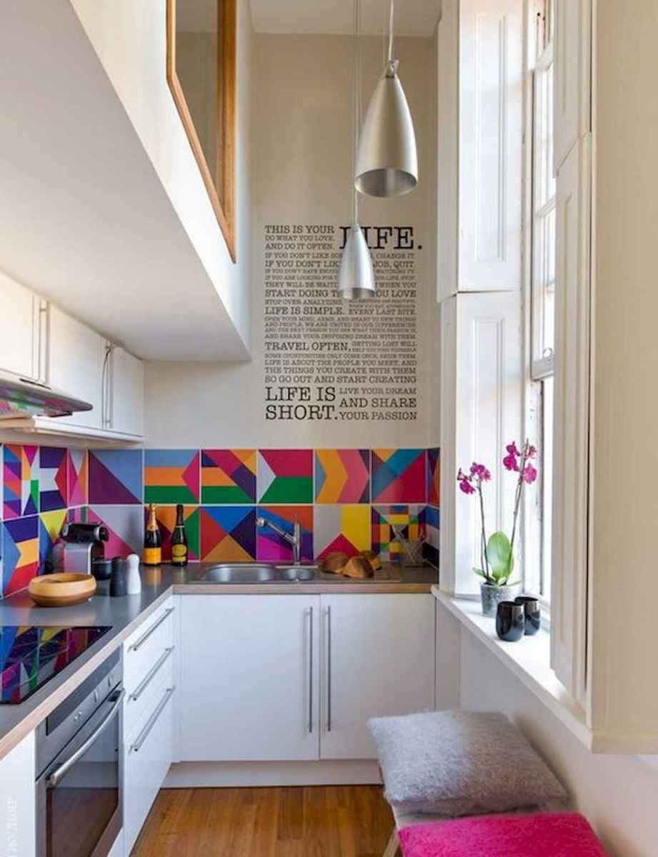 80+ Fantastic Colorful Kitchen Decor Ideas And Remodel for Summer Project (29)
